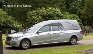 Vervoer Mercedes grijs Landau