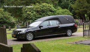 Vervoer Mercedes zwart Landau