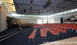 Locatie Oude Usselerschool Enschede Grote zaal