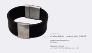 Vingerafdruksieraden Armband