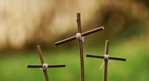 Drie kruisjes